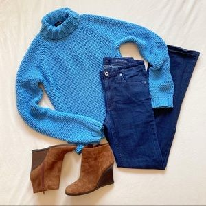 J. Crew chunky knit turtleneck sweater